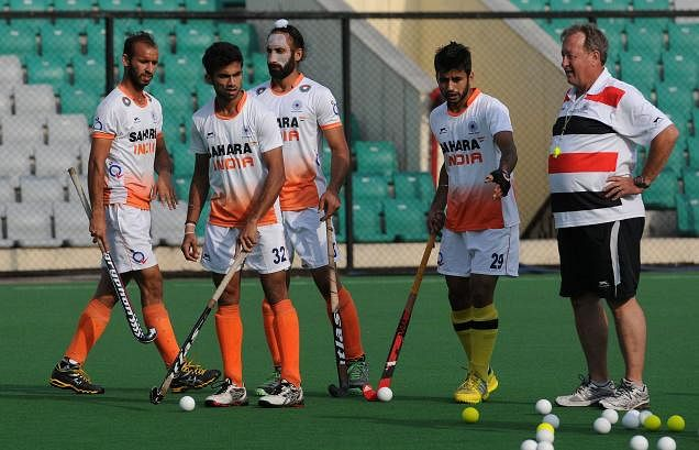 High-on-confidence Indian hockey team leaves for Australia