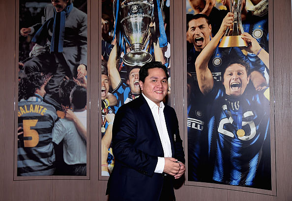 Inter Milan president Erick Thohir warns Serie A to avoid another Calciopoli