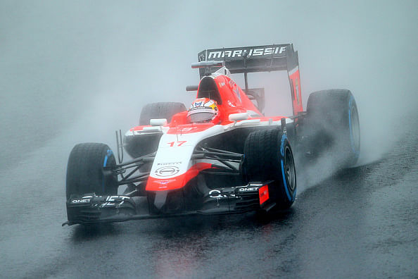 Video: Jules Bianchi's horrible crash at Suzuka