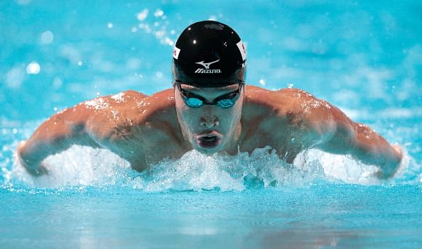 Asian Games: Japanese swimmer Hagino named MVP