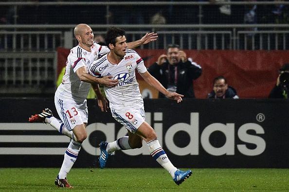 Ligue 1: Lyon snap Marseille's eight-match winning streak