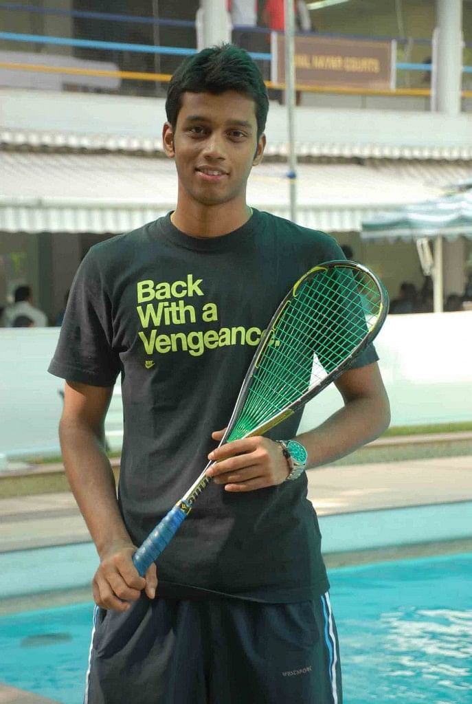 Mahesh Mangaonkar reaches semifinals in JSW Indian Squash Challenger Circuit