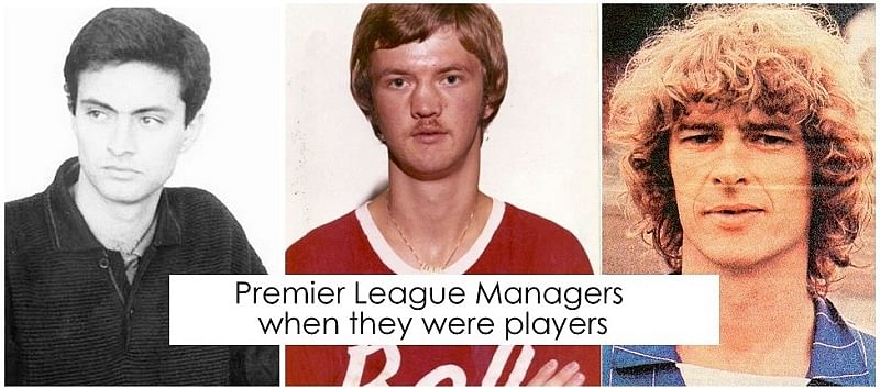 20 of the Premier League managers when they were professional footballers