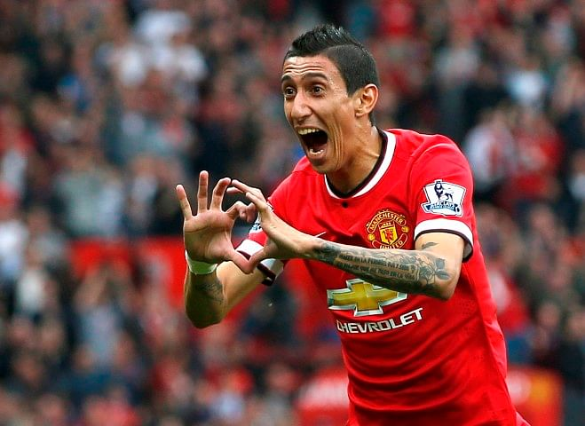 Manchester United's Angel Di Maria expected to be fit for Chelsea clash