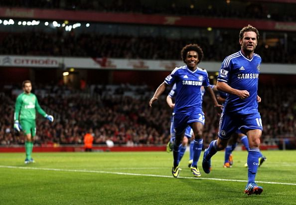 Video: A year since Juan Mata's last goal for Chelsea against Arsenal