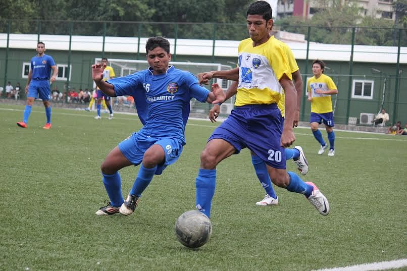 Mumbai FC thumps in three goals against Kenkre on their return to Cooperage