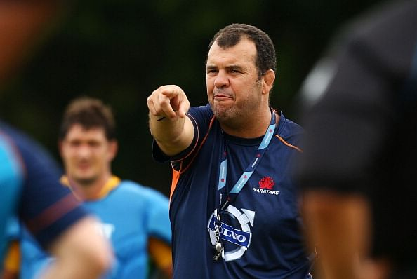 Michael Cheika named new Australian rugby union team coach