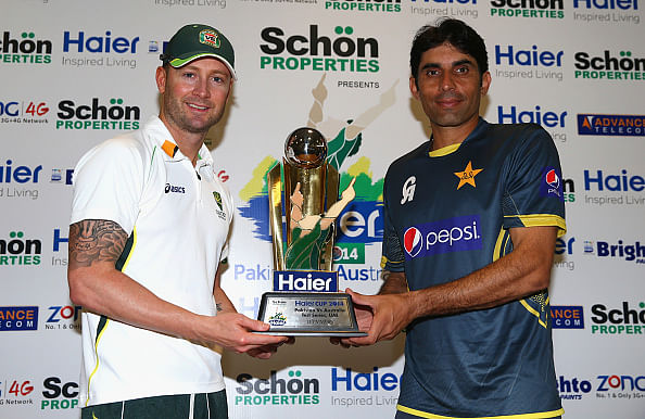 Pakistan vs Australia 2014: Chance for Michael Clarke's men to reclaim top spot in ICC Test rankings