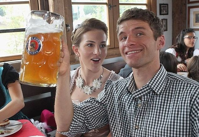 7 best images of Bayern Munich stars enjoying the Oktoberfest