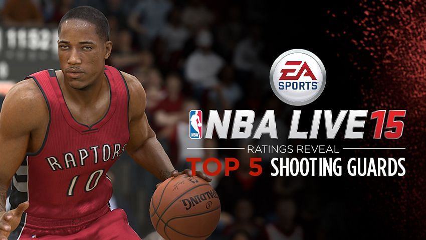 Top 5 Shooting Guards in NBA Live 15