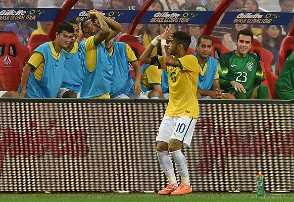 Brazil striker Neymar hailed by media after big win against Japan