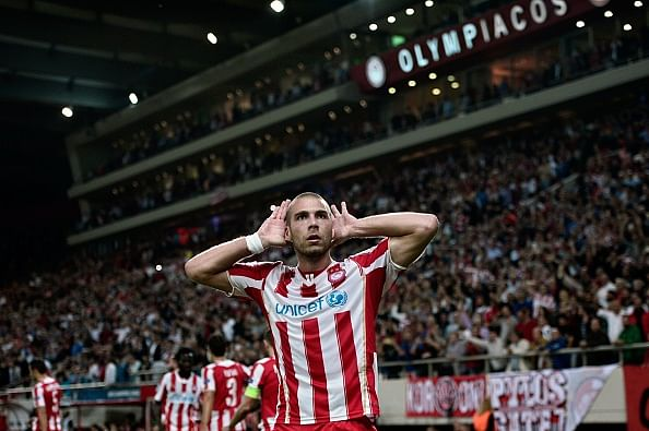 Olympiacos beat Juventus 1-0 in Champions League