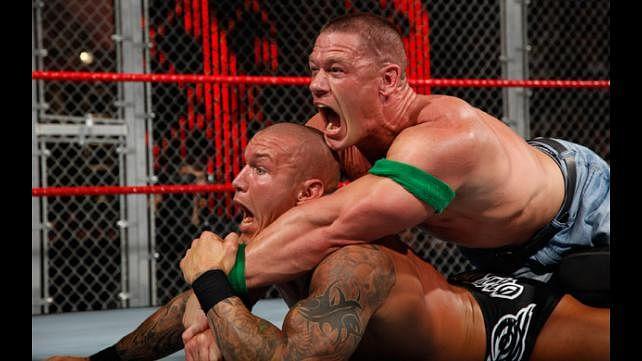 WWE 2K15: John Cena takes on Randy Orton inside Hell In a Cell