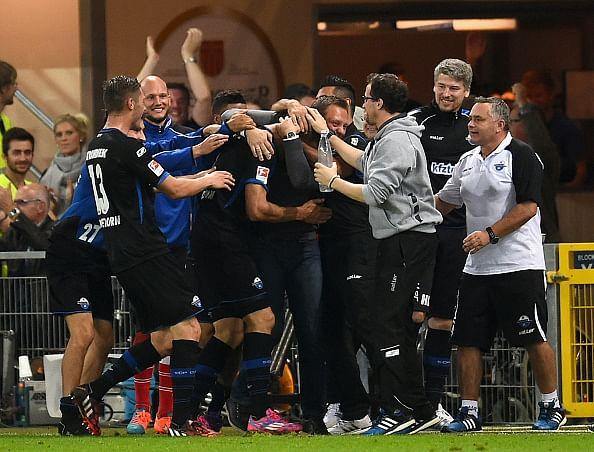 Bundesliga: Paderborn upset Frankfurt, Hoffenheim remain unbeaten