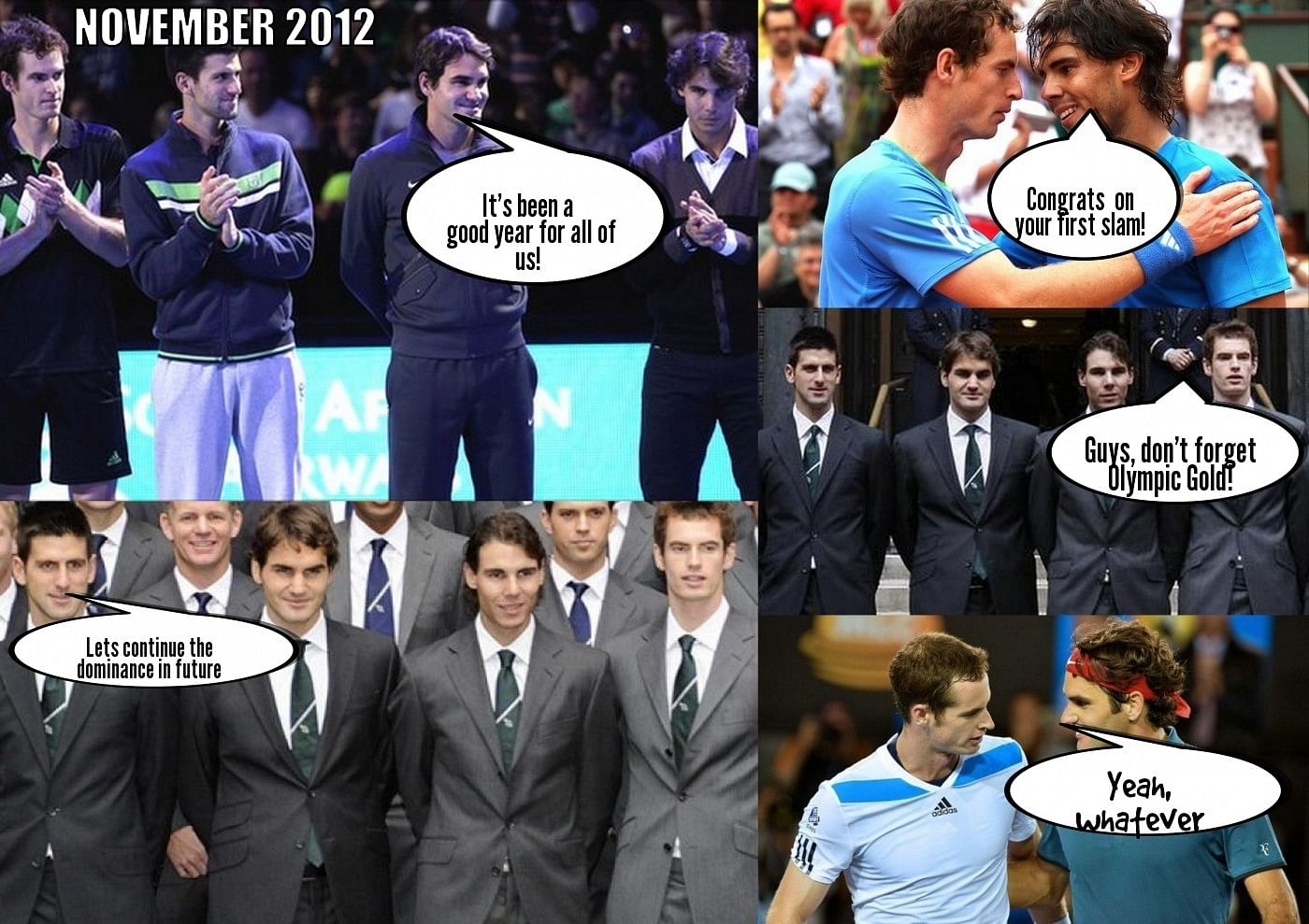 Humour: The REAL conversations between tennis players
