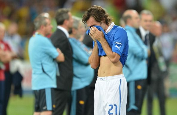 10 instances when footballers cried on the pitch