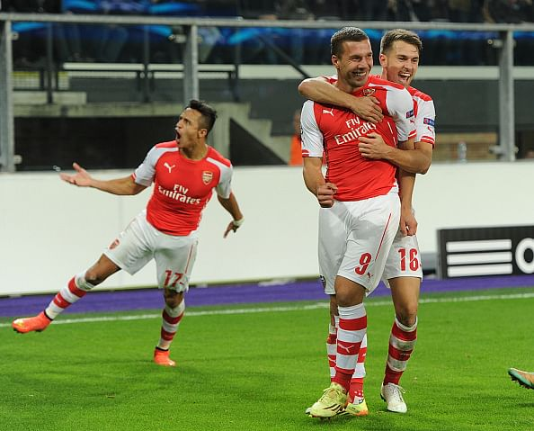 Highlights: Arsenal score two late goals to snatch 2-1 win at Anderlecht