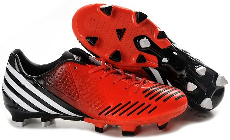 Red Predators Cleats Predator Cleats Black