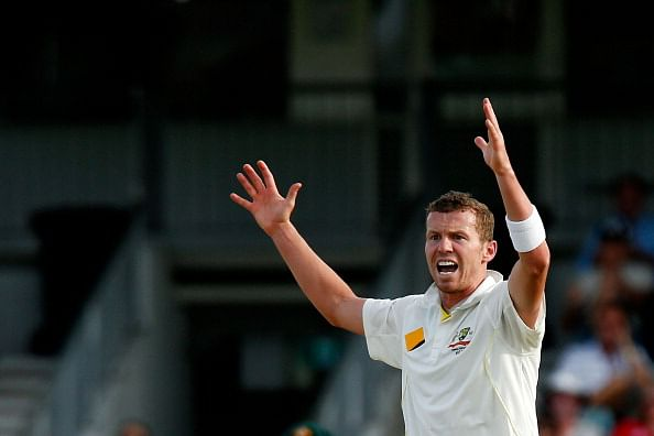 Australian pacer Peter Siddle puts on weight to increase bowling speed