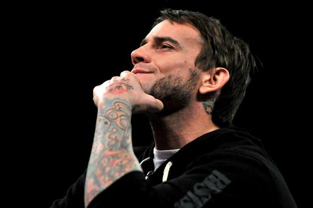 CM Punk celebrates his birthday with fans