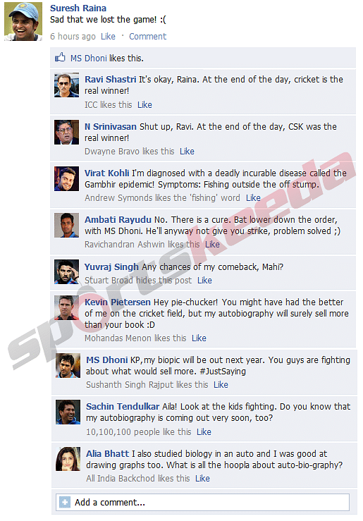 FB Wall: Indian cricketers and Kevin Pietersen trolled