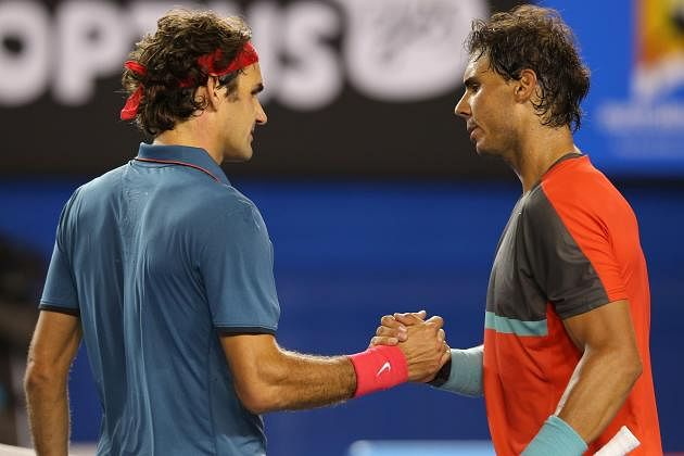 Best rallies between Roger Federer and Rafael Nadal