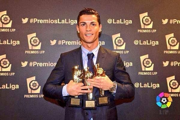 LFP awards 2014: Cristiano Ronaldo bags a hat-trick, Simeone honoured as best La Liga manager