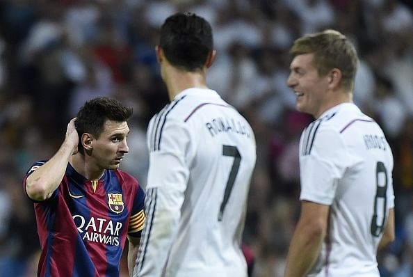 Top 6 hits and misses of the El Clasico