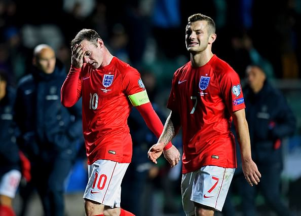 Satire: Jack Wilshere and Wayne Rooney debate England's performance against Estonia