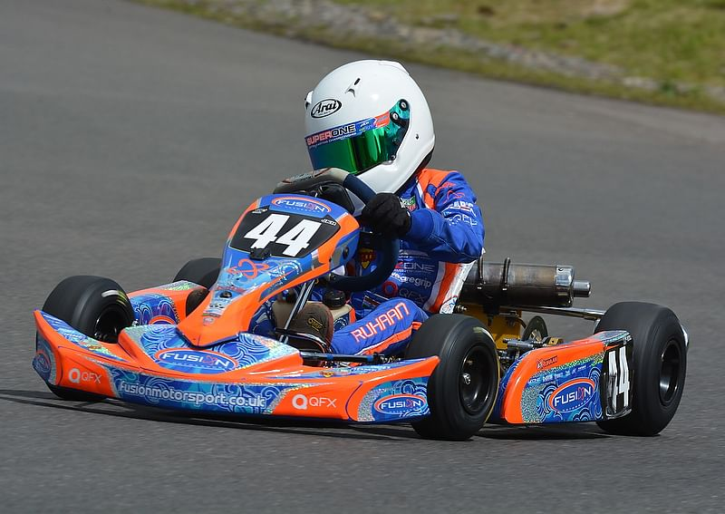 Eight-year-old Ruhaan Alva shines in Nottingham race