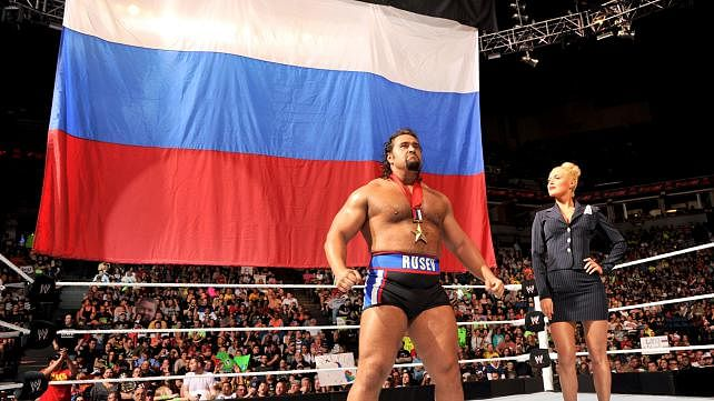 WWE's Big plans for Rusev at WrestleMania 31