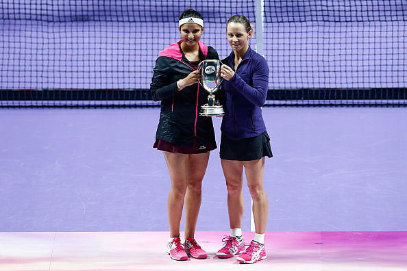 Sania Mirza congratulated by President of India for WTA title