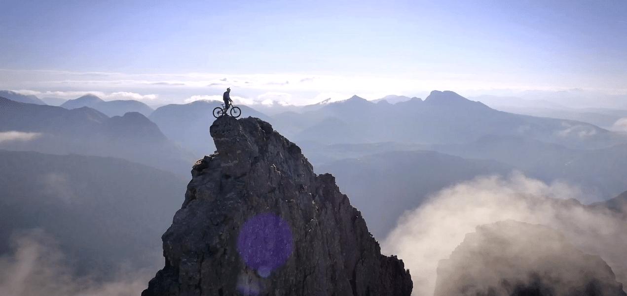 Death-defying ride by cyclist Danny Macaskill