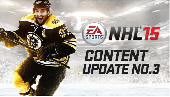 NHL 15 to bring back Online Team Play and other features with Content Update 3