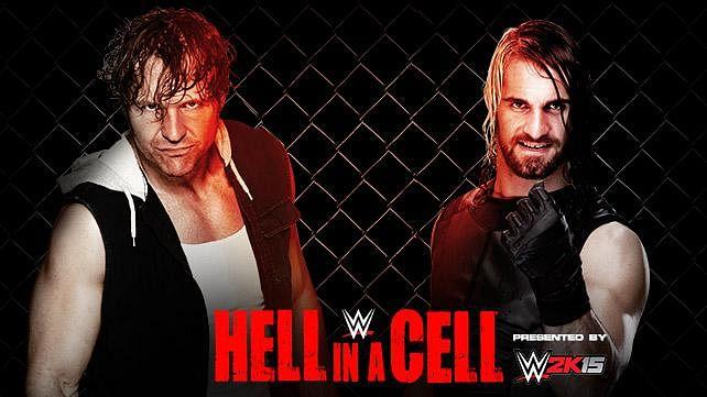 Watch Seth Rollins vs Dean Ambrose inside Hell In a Cell in WWE 2K15