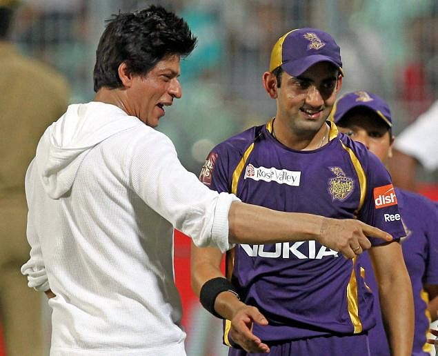 Happy Birthday: Shah Rukh Khan wishes his main 'knight' Gautam Gambhir