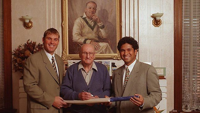 Sachin Tendulkar revisits memories of meeting Don Bradman