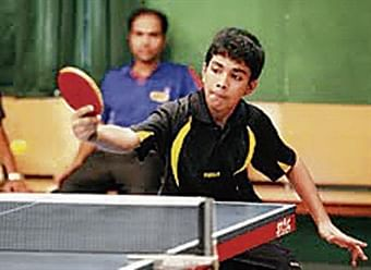 Forty sub-junior boys enter main draw of national ranked table tennis championship