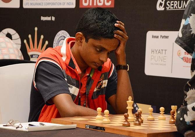 S.L. Narayanan earns GM norm at World Junior Chess Championship