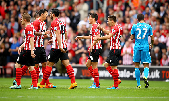 Video: World Class own goal from Vergini commences Southampton's rout of Sunderland