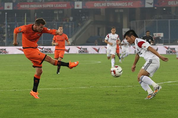 ISL: Delhi Dynamos and NorthEast United play out an exciting goalless draw