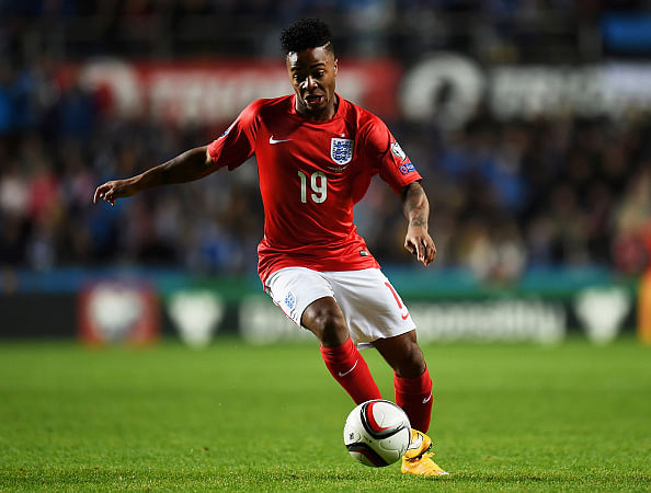 Jamaica-born winger Raheem Sterling has instigated debate in English football