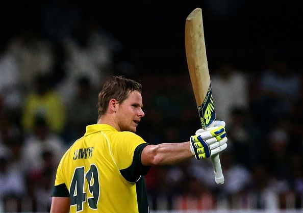 Steve Smith slams maiden ODI century as Australia beat Pakistan in first match