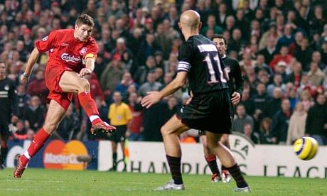 5 iconic moments when Steven Gerrard led from the front