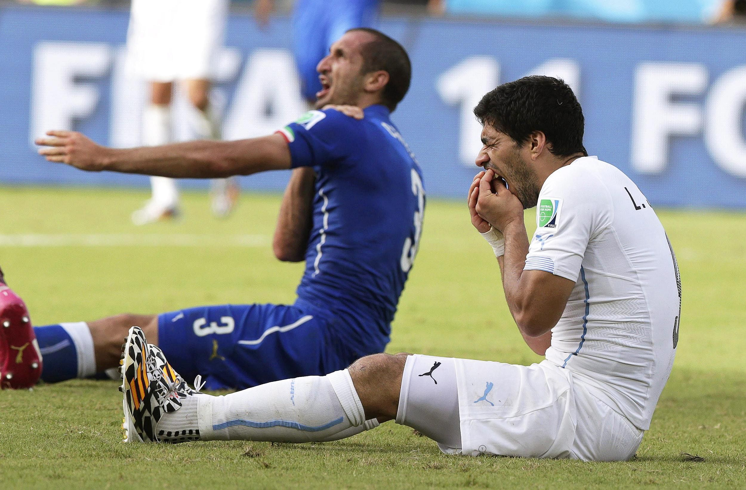 Luis Suarez finally reveals why he bites people