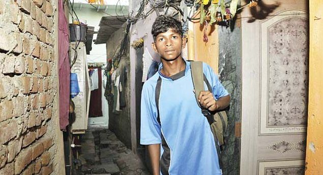 Son of a Mumbai maid stars in his debut Under-14 cricket match