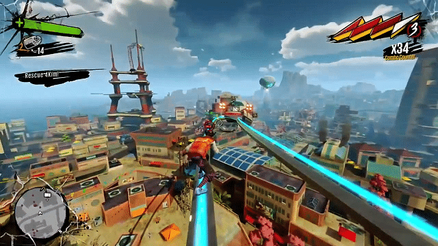 Sunset Overdrive: Preview