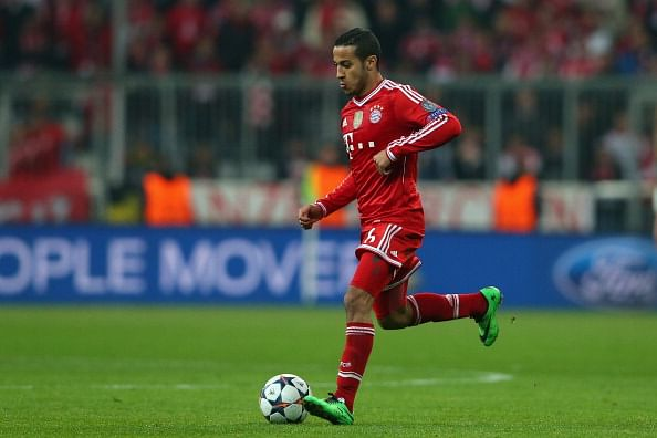 Bayern Munich's Thiago Alcantara injured again just after coming back from a long spell out