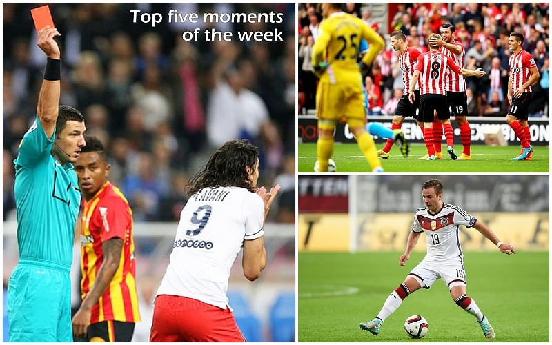 Five of the best moments in football of the week - 20th October