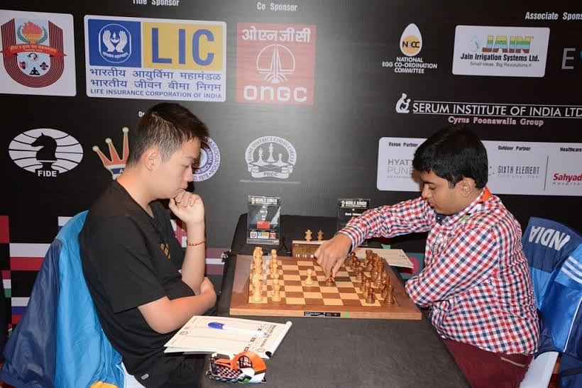 LIC World Junior Chess Championship: S L Narayanan, Vidit and Padmini settle for draws